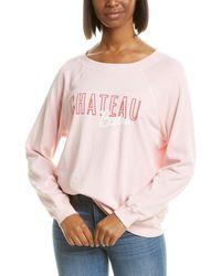 Wildfox Sommers Chateau Beau Sweatshirt - Pink