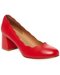 French Sole - Tanzanite Leather Pump - Lyst