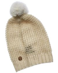 Vince Camuto - Women's Tuck Stitch Slouchy Beanie - Lyst