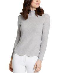 J.McLaughlin Cashmere-blend Sweater - Grey