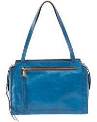 Hobo Affinity Leather Tote - Blue