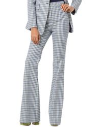 Michael Kors Wool-blend Pant - Blue