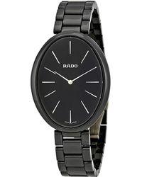 Rado Esenza Dial Ceramic Watch - Black