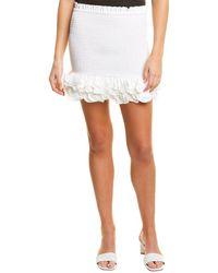 Petersyn Barrett Mini Skirt - White