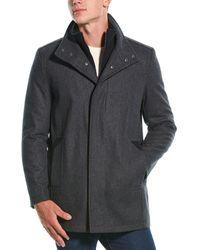 Marc New York Coyle Wool-blend Coat - Gray