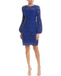 Elie Tahari Shift Dress - Blue