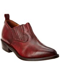 Frye Billy Leather Shootie - Red