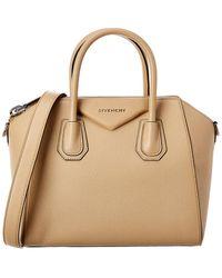Givenchy Antigona Small Grainy Leather Satchel - Multicolour