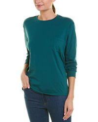 Richer Poorer Pocket T-shirt - Green