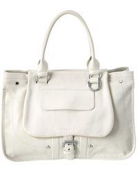 Longchamp - Balzane Leather Shoulder Bag - Lyst