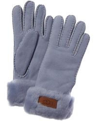 UGG Turn Cuff Gloves - Blue