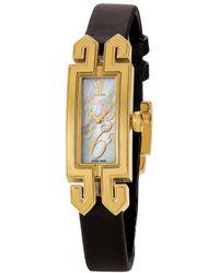 Le Vian Leather Watch - Metallic