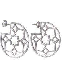 Heritage Tiffany & Co. - Tiffany & Co. Platinum 4.50 Ct. Tw. Diamond Drop Earrings - Lyst