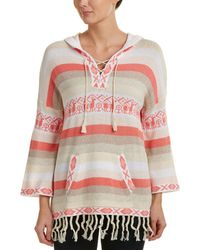 Autumn Cashmere Cotton By Hoodie - Pink