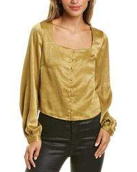 Lucy Paris Olive Top - Green
