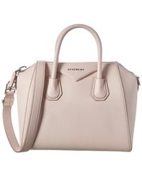 Givenchy Antigona Small Leather Tote - Pink
