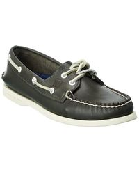 Sperry Top-Sider A/o Leather Boat Shoe - Blue