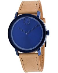 Movado Men's Bold Watch - Blue