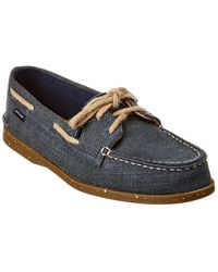 Sperry Top-Sider Top-sider Authentic Original 2-eye Hemp Boat Shoe - Blue