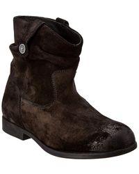 Birkenstock Sarnia Suede Boot - Black