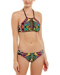 Trina Turk Africana 2pc Bikini Set - Multicolour