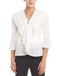 St. John - Santana Wool-blend Knit Jacket - Lyst