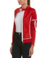 Moncler Sweatshirt Jacket - Red