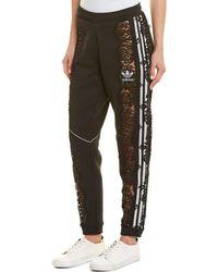 Stella McCartney Adidas 3-stripe Lace Pant - Black