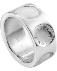 Louis Vuitton - Empreinte 18k Logo Ring - Lyst