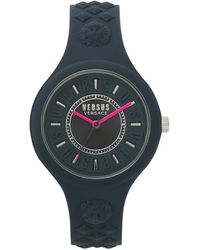 Versus Fire Island Silicone Strap Watch - Multicolor
