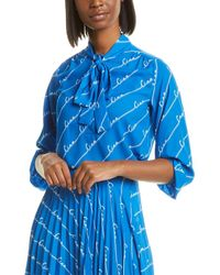 Chinti & Parker Ciao Blouse - Blue
