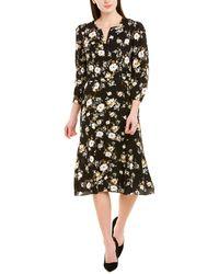Shoshanna A-line Dress - Black