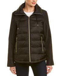 Tahari Short Coat - Black