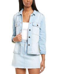 FRAME Denim Le Shirt Jacket - Blue