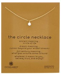 Dogeared - Karma 14k Over Silver Necklace - Lyst
