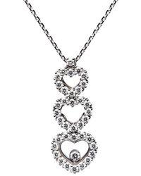 Chopard - 18k 1.63 Ct. Tw. Diamond Necklace - Lyst