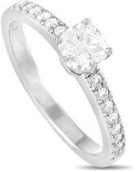 Heritage Tiffany & Co. Tiffany & Co. 0.61 Ct. Tw. Diamond Ring - Metallic