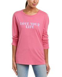 PEACE LOVE LIFE hamsa i am strength heather gray long sleeve v neck large