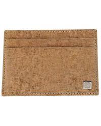 Bruno Magli | Men's Leather Neoclassico Flat Card Case | Lyst