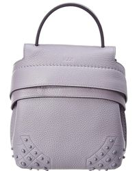 Tod's - Wave Mini Leather Backpack - Lyst