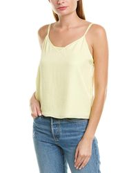Vince Double Layer Cami - Yellow