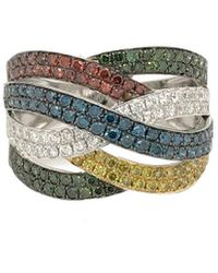 Le Vian ? Grand Sample Sale 14k Vanilla Gold? 1.54 Ct. Tw. Diamond Ring - Metallic