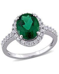 Rina Limor 10k 3.90 Ct. Tw. Gemstone Ring - Green