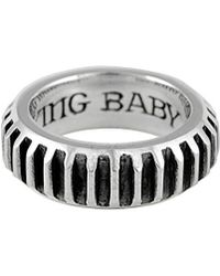 King Baby Studio - Silver Ring - Lyst