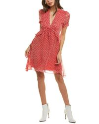 The Kooples Spring Liberty Midi Dress - Red