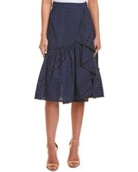 Trina Turk Vallejo Skirt - Blue