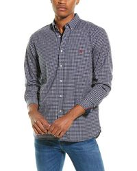Joules Classic Fit Woven Shirt - Blue