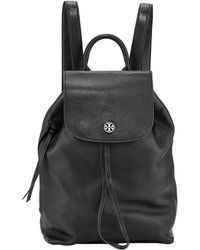 2e8ded97d4b1 Tory Burch - Brody Pebbled Leather Backpack - Lyst