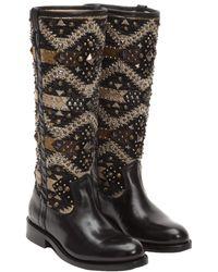 Frye - Jayden Navaho Leather Tall Boot - Lyst