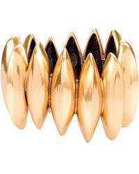 Oscar de la Renta - Russian Gold Disk Bracelet - Lyst